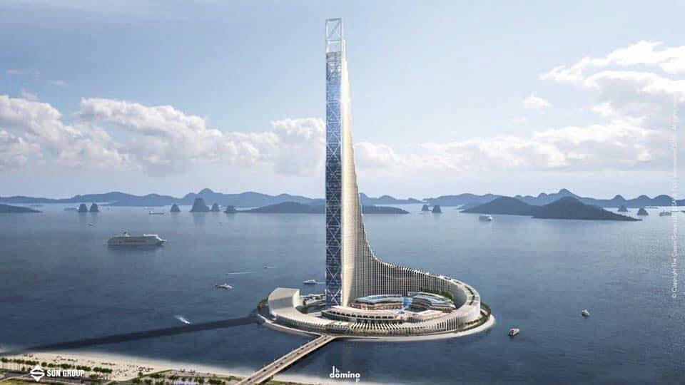 Tháp Domino – tòa tháp cao thứ 8 thế giới